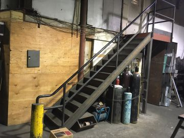 Metal Staircase And Stair Fabrication And Design For